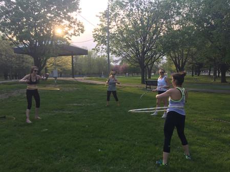 Le hula hoop au banc d'essai!