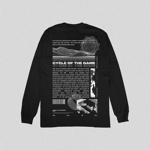 THE WILL ON KILL - CYCLE OF THE GAME (LONG SLEEVE BACK)