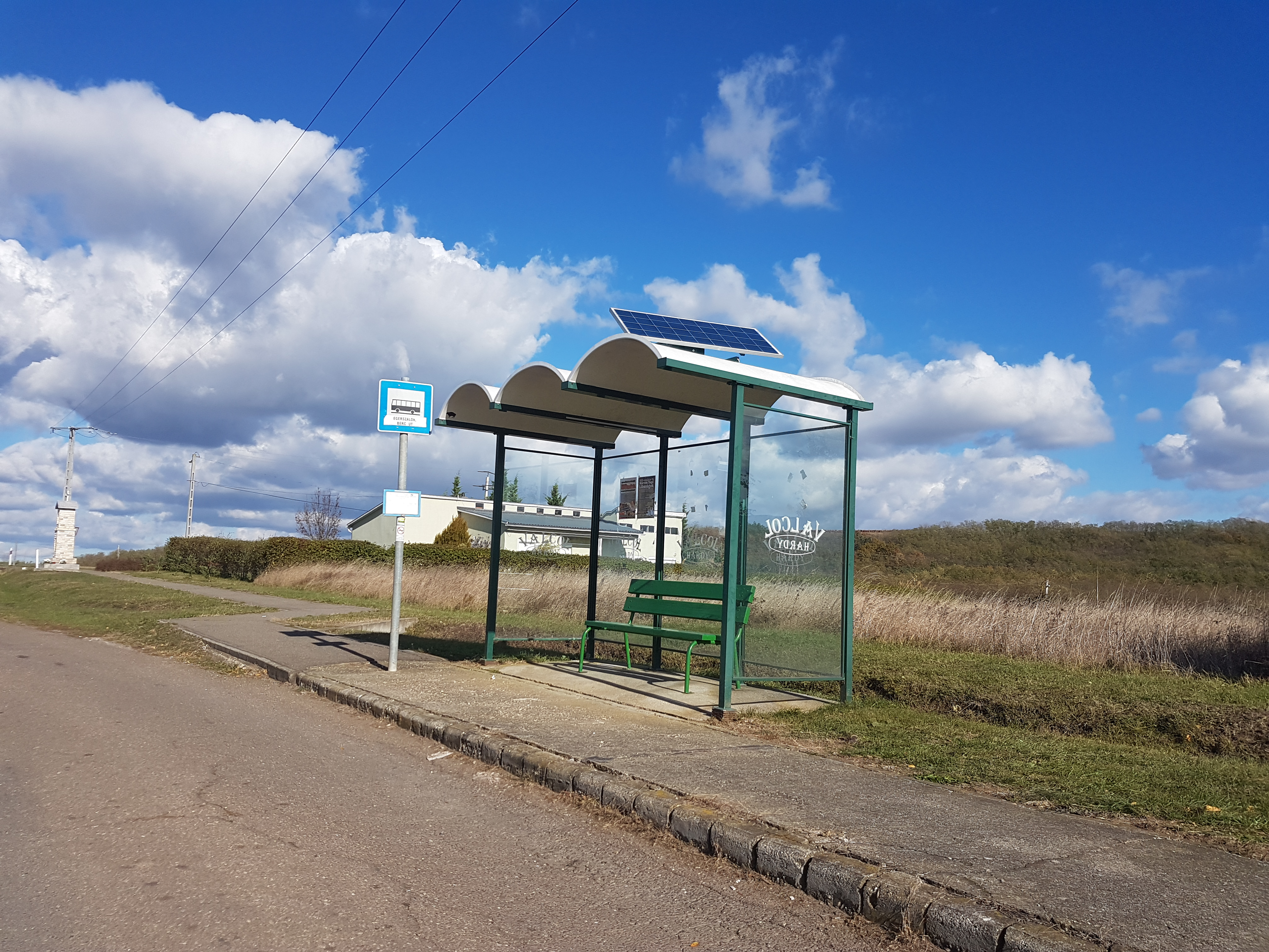 Egerszalók buszmegálló