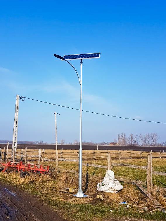 Fülüpszállás napelemes kandeláber SLK-I-