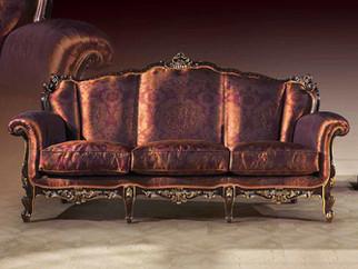 Barock Sofa, Stil Sofa, Cechov, Ornament