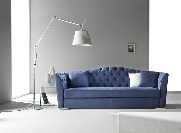 PASSION_CIS_Couch_Sofa_blaues Sofa_blue Couc_Wohnzimmer_modene Möbel_elegante Couch