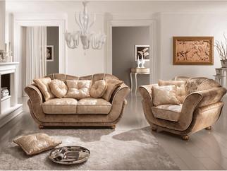 Sofa_Wohnzimmer_CIS Salotti_Couch_Barock Sofa_Picadilly