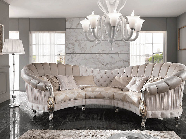 Sofa_Wohnzimmer_CIS Salotti_Couch_Barock Sofa