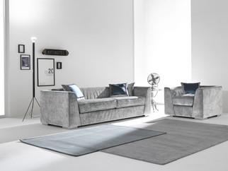 Sofa_Wohnzimmer_CIS Salotti_Couch_Glamour Couch_modernes Sofa_graues Sofa