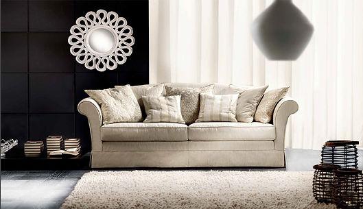 Villa Borghese Sofa Cava, Couch, Sofa, München, Itailienisch Designer Couch, Big Sofa