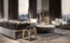 Hoteleinrichtung, Einrichtungsberatung, italienische Designermöbel, Moderne Einrichtung, Ledercouch, hochwertige Möbel
