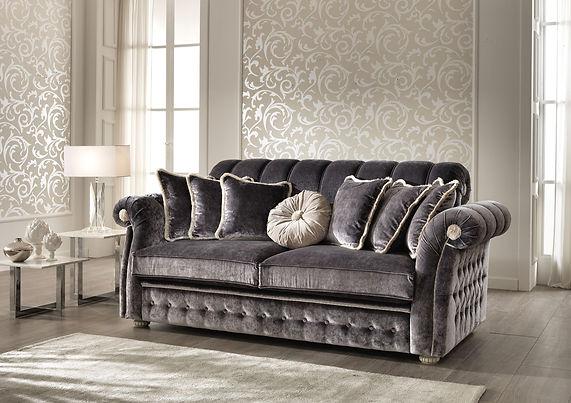 FLORENCE_klassisches Sofa_schöne Couch_Wohnzimmer_Schlafsofa