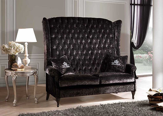 Sofa Berger imperiale, Luxus Sofa, Sofa mit hoher Lehne, Couch mit hoher Lehne, Luxssofa, Sofa, Couch, München Sofas,