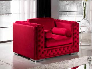 Sessel Elite_Lounge Sessel_Roter Sessel_Moderner Sessel_Club Einrichtung