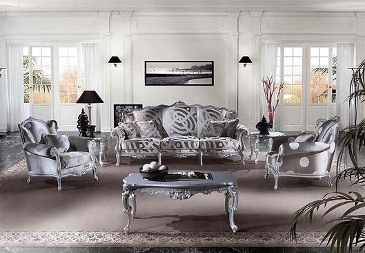 Louis_XV_Sofa_Austen_weiß_Angelo_Cappellini_Silberne Couch_Barock sofa_Luxus Sofa_Einrichtung_München