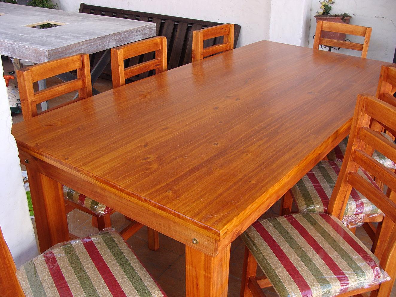 Mesas y sillas asiaticas y estilo campo - Mesa de campo ...