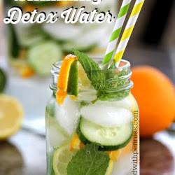 Slimming Detox Water and Detox Powders