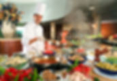Catering Service with Onsite Chef for Live Cooking Stations