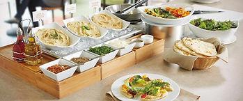 Mediterrenean Food Station Yum Yum Catering