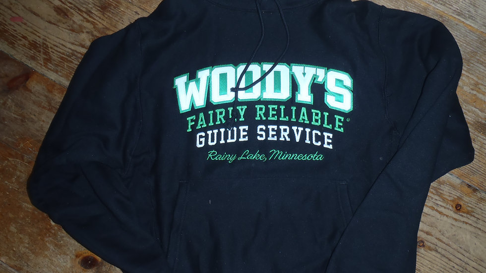 NEW!!! Woody's Deluxe 2 Color Applique Embroidered Hoodie