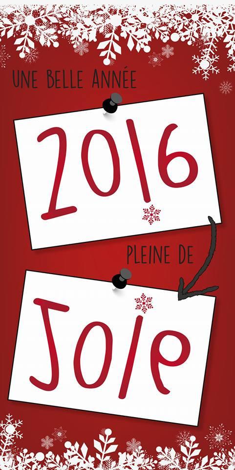 Carte de vœux Com'média 2016