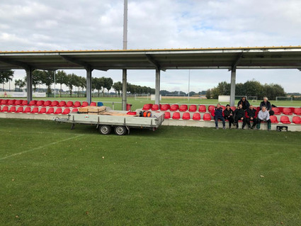 Neue Sitzschalen am Oyther Berg!