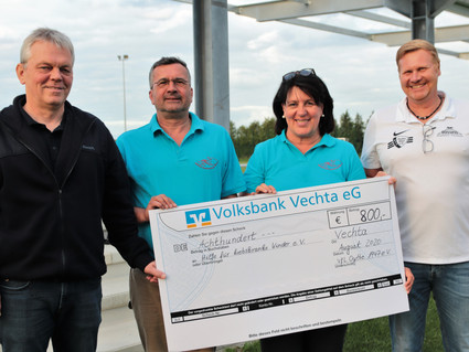 VfL unterstützt Hilfe für krebskranke Kinder Vechta e.V.