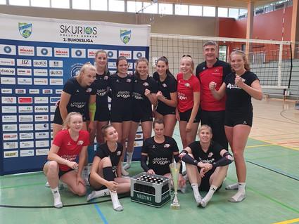 Erster Auswärtseinsatz unserer Bundesliga-Volleyballerinnen