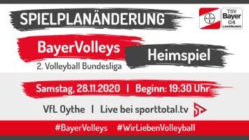 2. Volleyball-Bundesliga: der VfL zu Gast beim Tabellenführer