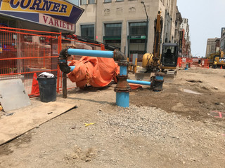 Leaving room for future upgrades and a new neighbour on Dundas Place