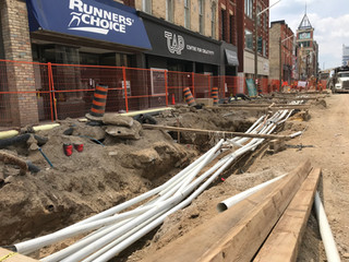 Duct work & a chance to win every time you go downtown