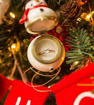 Novelty Christmas porcelain Ball Snowman