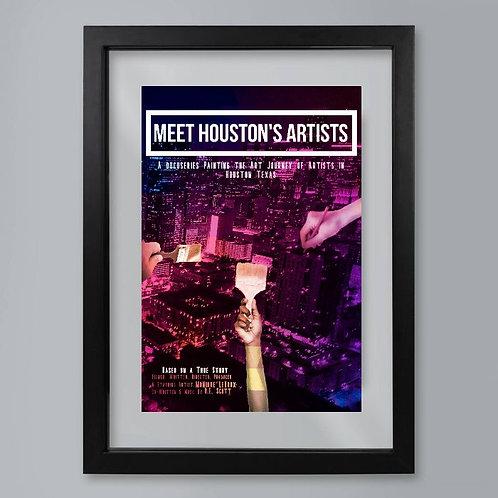 MHA Movie Poster Print