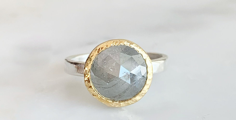 RUSTIC GREY DIAMOND SOLITAIRE(LARGE VERSION)