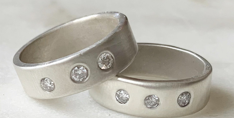Claire Diamond Stacker Rings (price per ring)