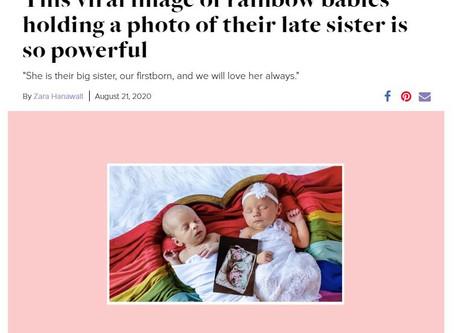 My Rainbow Baby Twins on Motherly