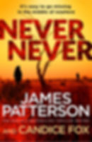 Never Never Black & Blue by James Patterson and Candice Fox author