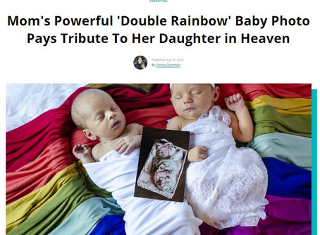 Living through child loss and the miracle of double rainbow babies.