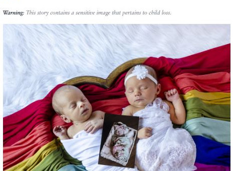 POPSUGAR Feature about becoming a Rainbow Mom!