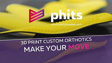 Phits 3D Printed Insoles