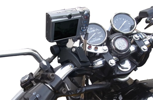 NSMS-SPH010バイク取付けイメージ