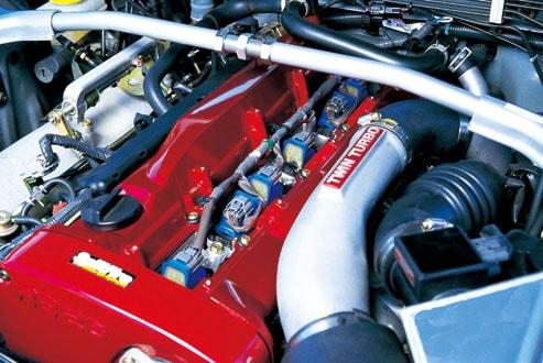 RBエンジン装着イメージ