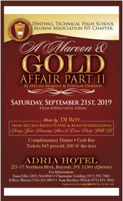 Maroon and Gold Affair will be on September 21st 2019