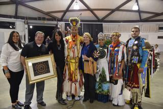 Lumbee Tribe honors NC House Principal Clerk during annual seminar in Raleigh