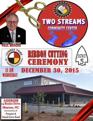 Ribbon Cutting Ceremony for District 5 Community Center set for December 30
