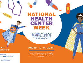 National Health Center Week August 12-18, 2018