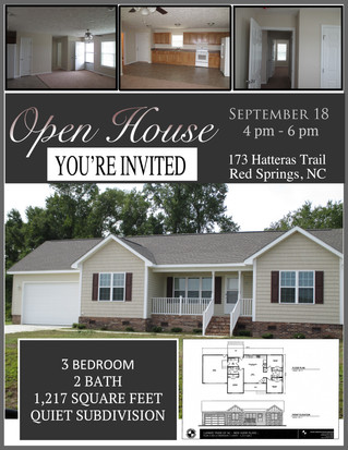 Open House Event at Cheraw Acres set for Sept 18