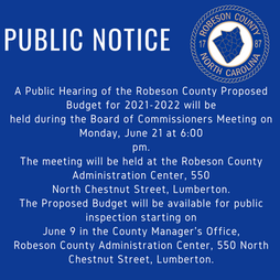 Public Hearing-June 21, 2021