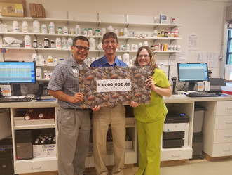Lumberton Health Center Pharmacy reached a significant milestone in June 2017.