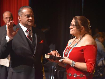 Harvey Godwin, Jr. Sworn-in as Tribal Chairman