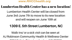 New Location for Lumberton Health Center