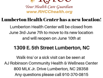 New Location for Lumberton Health Center