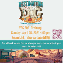 VBS Training April 25, 20214:00 pm