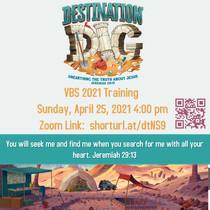 VBS Training April 25, 20214:00 pm
